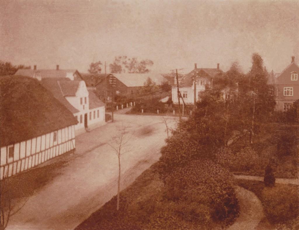 Den gamle Lindved Kro som forsvandt i 1935