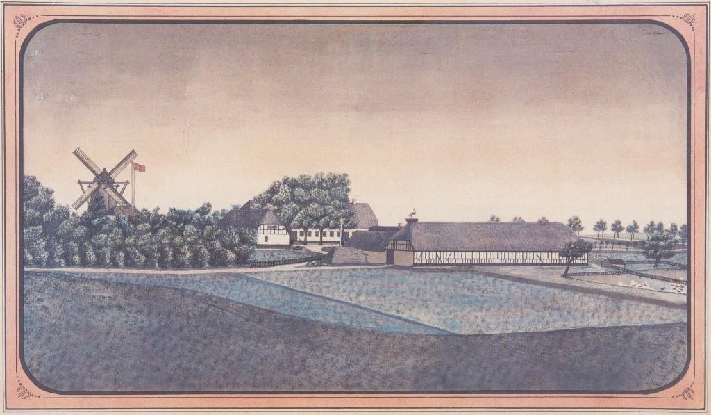 Maleri af Laage Hovedgaard